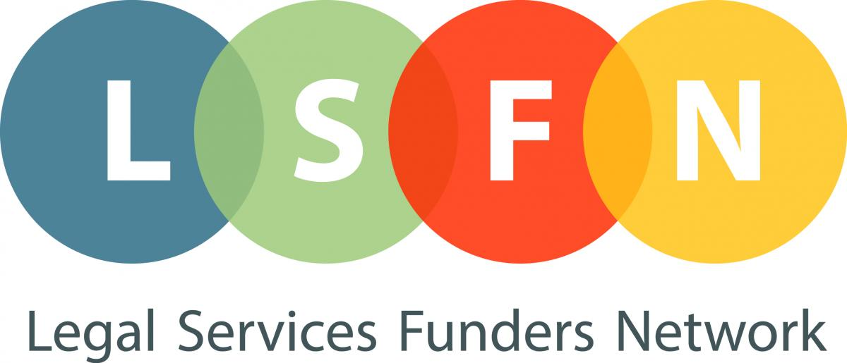 Logo for Legal Services Funders Network