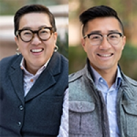Headshots of blog authors from left to right Alice Y. Hom and Daniel Lau