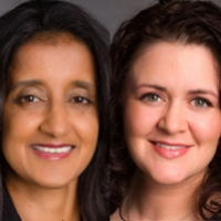 Headshots of the people of interest for this news, Amber López Gamble and Rochelle Witharana